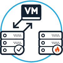 Automatischer Neustart der VM im anderen Rechenzentrum bei Problemen